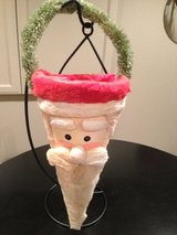 Decorative Santa Cone in Oswego, Illinois