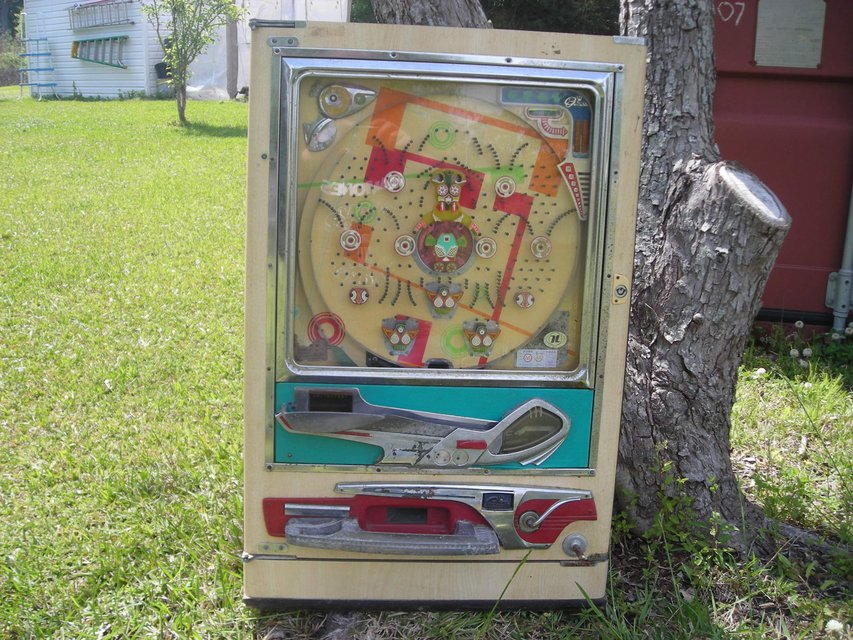 VINTAGE PLINKO MACHINE | Collectibles for sale on Lejeune ...